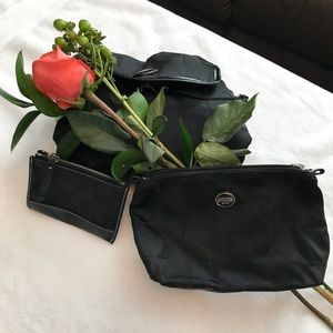 Authentic Coach Make Up Bag & Mini Wallet.